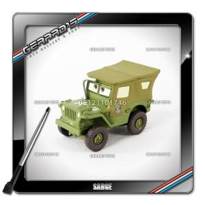 Sarge (With Display Case) - Cars - Mattel - Loose
