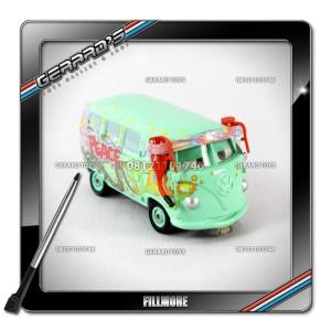 Fillmore Team (Eye Changer / With Display Case) - Cars - Mattel - Loose