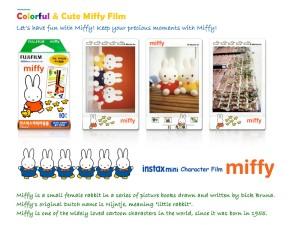 Isi Reffil Instax Mini miffy