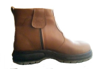 SEPATU SAFETY 3/4 RES MOCCA