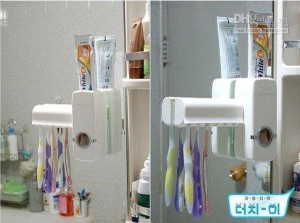 Toothpaste Brush Holder