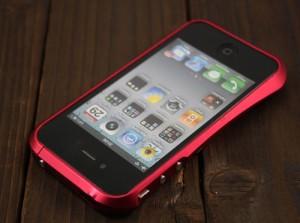 Bumper iPhone 4 Deff Cleave Red