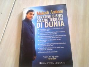 Buku Mukesh Ambani: Strategi Bisnis Orang Terkaya Di Dunia (Kondisi 95%)