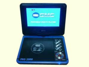 DVD PORTABLE GMC