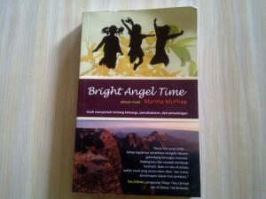 """Buku """"Bright Angel TIme"""" (kondisi 95%)"""