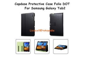 Capdase Protective Case Folio Dot Galaxy Tab2 P7510 Black