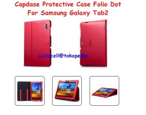 Capdase Protective Case Folio Dot Galaxy Tab2 P7510 Red