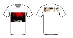 kaos 2pm hands up HOTTEST