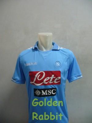 Jersey Napoli Home (+ Sponsor MSC)