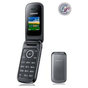 "TURUN HARGA !!  Samsung Flip GT-E1195 ""TITAN GREY"" [Limited Stock]"