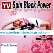 Spin Black Power Alat Fitness