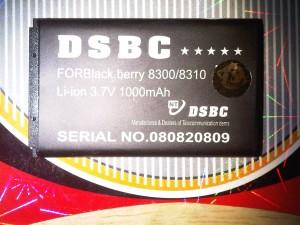 BATTERAY BB 8300/8310 DSBC DOUBLE POWER