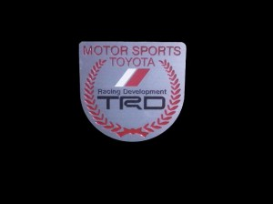 Emblem TRD Half Round