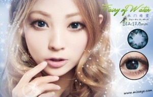 "MISS EYE ""FAIRY OF WATER"" FROM KOREA 17.8 MM TANPA TAMBAHAN BONUS ( PEMBELIAN LENSANYA SAJA )"