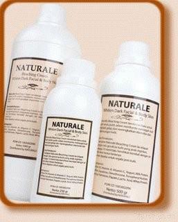Naturale Bleaching Cream Isi 250 Gram