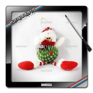 Boneka Gantung Snowman Baju Panjang