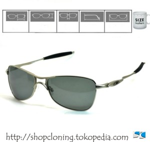 OAKLEY SG Crosshair (Silver Polarized)