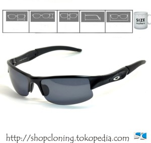 OAKLEY SG Flackjacket (Black Polarized)