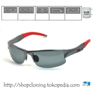 OAKLEY SG Flackjacket (Gun Ducati Polarized)