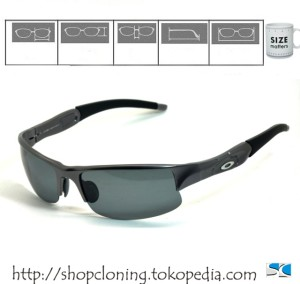 OAKLEY SG Flackjacket (Gun Polarized)