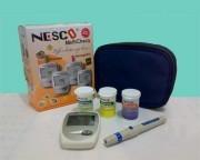 Alat Tes Gula Darah, Asam Urat Dan Kolestrol Nesco GCU 3 In 1