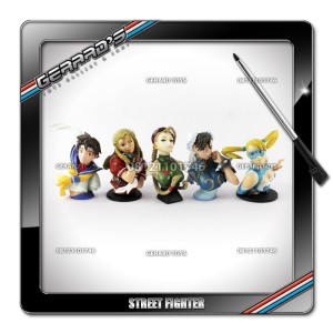 Street Fighter Girls - Trading Figures - KW