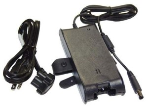 ADAPTOR DELL PA-10 FAMILY - PIN CENTRAL ORIGINAL DELL SPARE PARTS (WITH AC POWER CABLE)