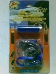 BLUETEC EMERGENCY CHARGER PHONE, Mengisi Batrai Hp Tanpa Listrik