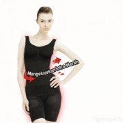SLIMMING SUIT AS SEE ON TV JACO SINDO *BLACK COLOR*