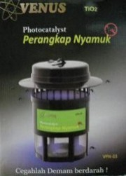Venus Photocatalyst Perangkap Nyamuk VPN-03.VENUS PERANGKAP NYAMUK