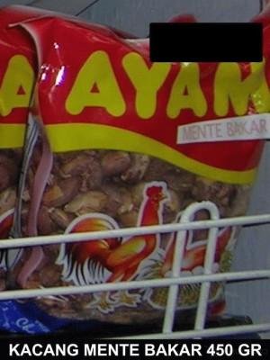 Khas Makassar Kacang Mente Bakar 450gr