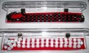 Kalung Gelang Magnet Kesehatan 2 In 1 Putih & Hitam