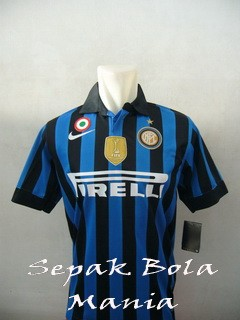 Jersey Inter Milan Home 11/12 (+ Patch WCC& Coppa)