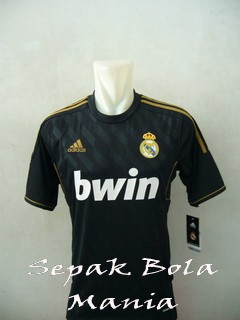 Jersey Real Madrid Away 11/12