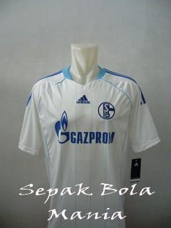 Jersey Schalke Away White 11/12