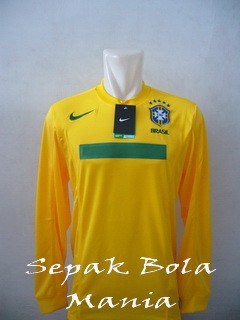 Jersey Brasil Home LS Copa America 2011
