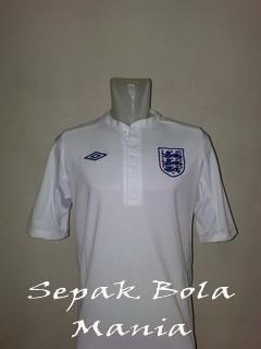 Jersey England Home Euro 2012