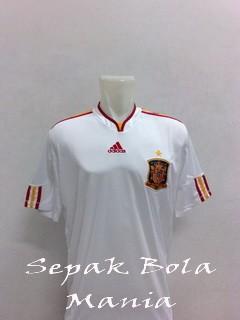Jersey Spain Away Euro 2012