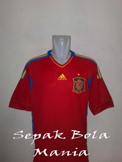 Jersey Spain Home Euro 2012