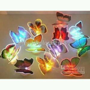 Lampu Rp. 6.000 Kupu Kupu Led Flash Light Butterfly
