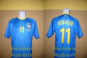 Jersey Multi Sport Brasil Away - Robinho