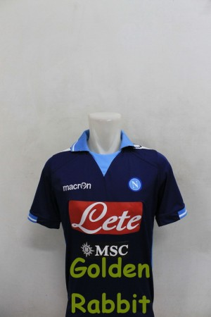 Jersey Napoli Away (+ Sponsor MSC)