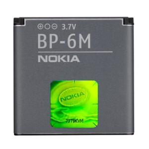 Baterei, Batere, Baterai Hp Nokia BP-6M Original 100%