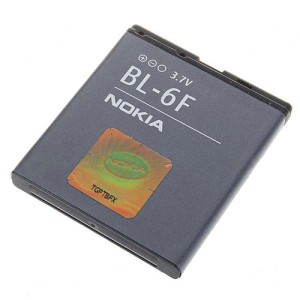 Baterei, Batere, Baterai Hp Nokia BL-6F Original 100%