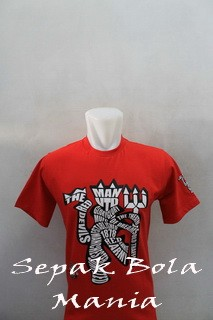 T-shirt Distro Man.Utd Devil 001