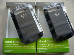 Original Hardshell Blackberry Dakota 9900 9930 Black