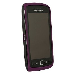 Original Premium Skin Blackberry Monza 9850 9860 Black Purple