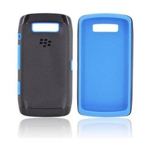 Original Premium Skin Blackberry Monza 9850 9860 Black Blue