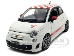 2008 Fiat Abart 500 (Bburago)