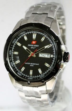 Swiss Army Original 9395 Silver Black